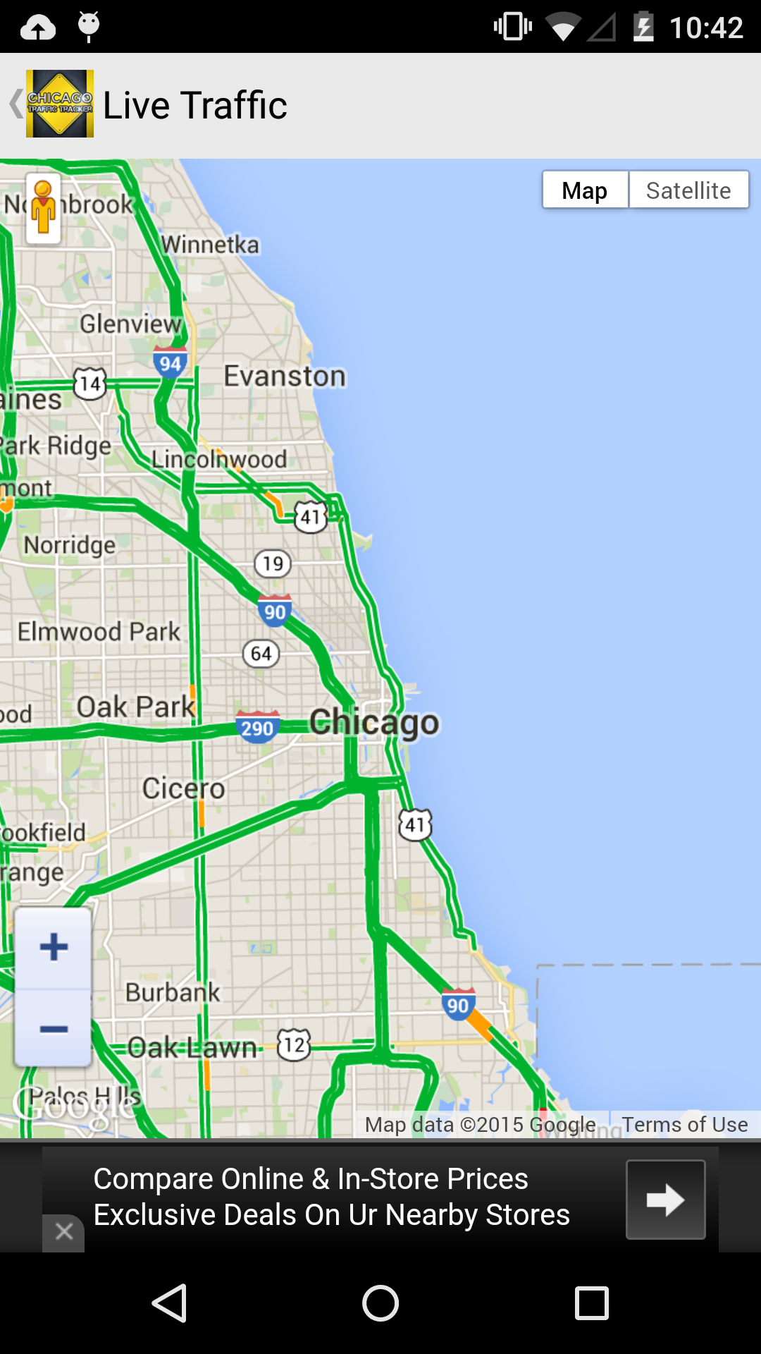 Amazon Com Chicago Traffic Tracker Appstore For Android