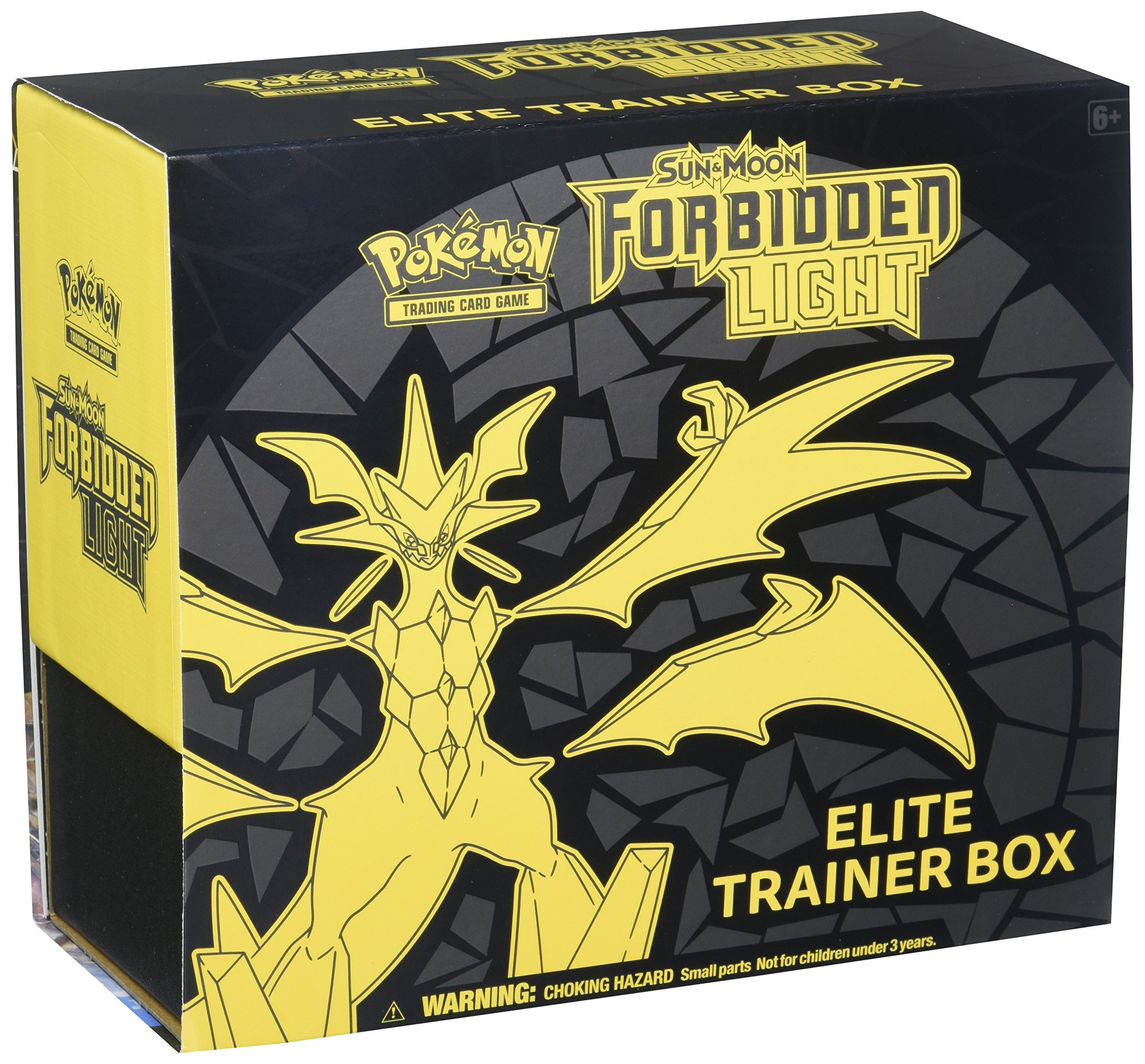 Pokémon TCG: Sun & Moon-Forbidden Light Elite Trainer Includes 125 Total 65 Amazing Card Sleeves Featuring Ultra Necrozma, Ultra Necrozma-GX, Player's Guide, Collector's Box and More
