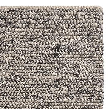 Amazon De Urbanara Teppich Ravi Schurwolle Viskose Baumwolle