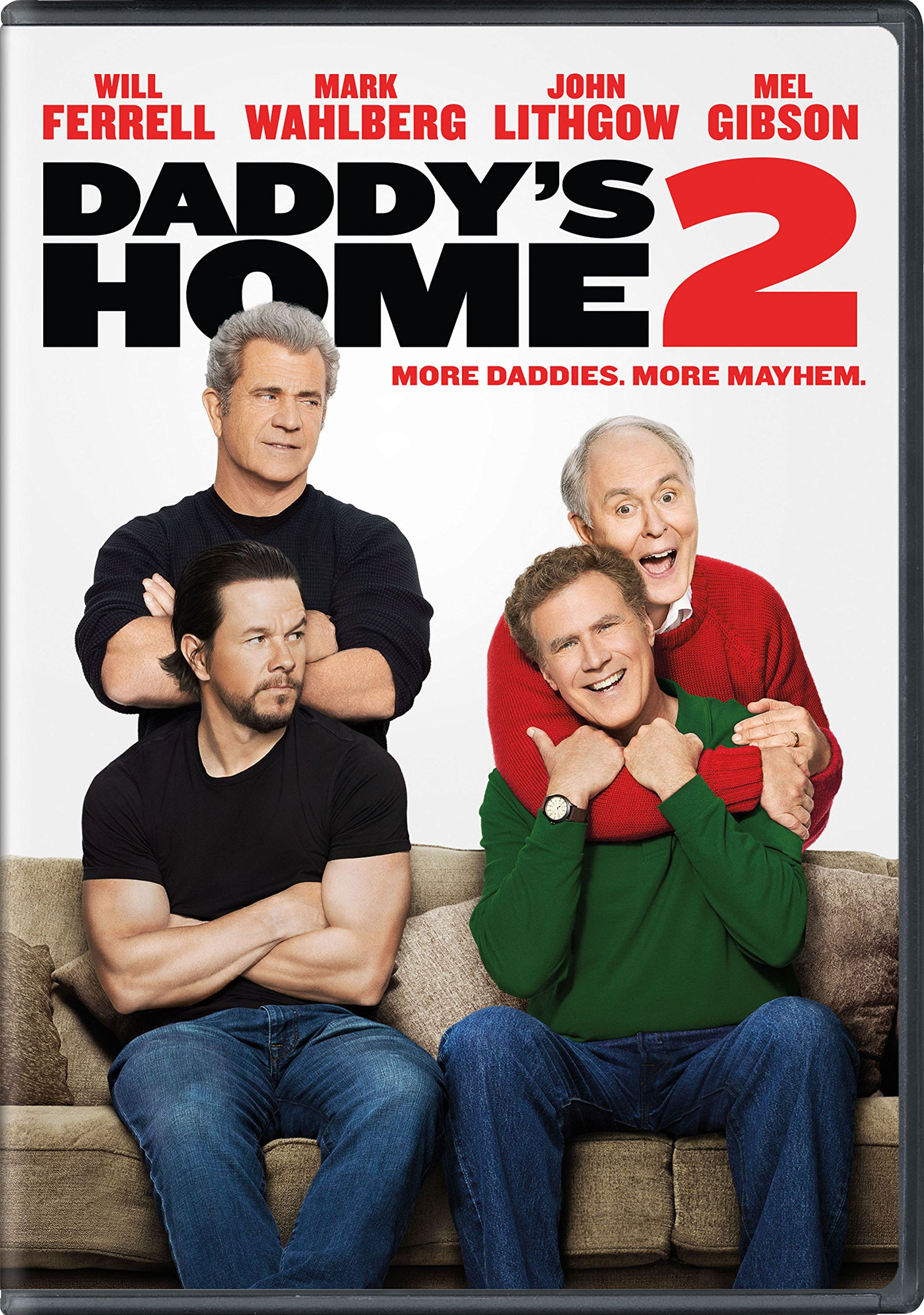 DVD : Daddy's Home 2 (Dolby, Widescreen, Amaray Case, Subtitled, Dubbed)