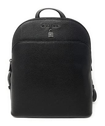 494cea4e9f2a Amazon.com | Michael Kors Adele Large Leather Backpack Bag with Lock ...