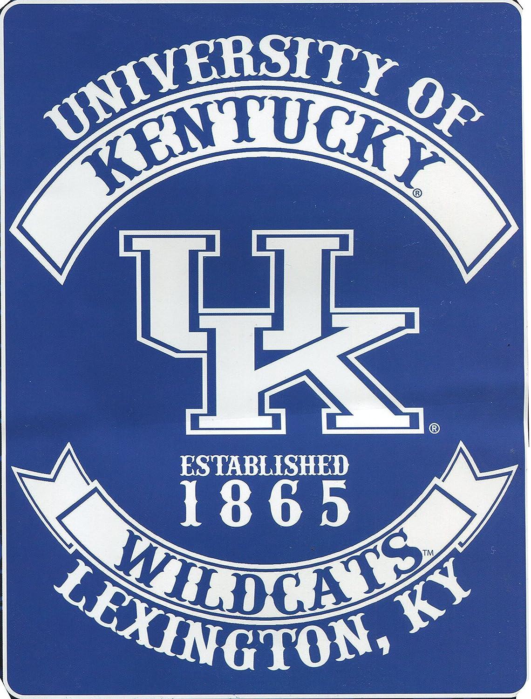 Augusta Sportswear NCAA Kentucky Wildcats Varsity Royal Plush Raschel Blanket, Blue, 60 x 80-Inch
