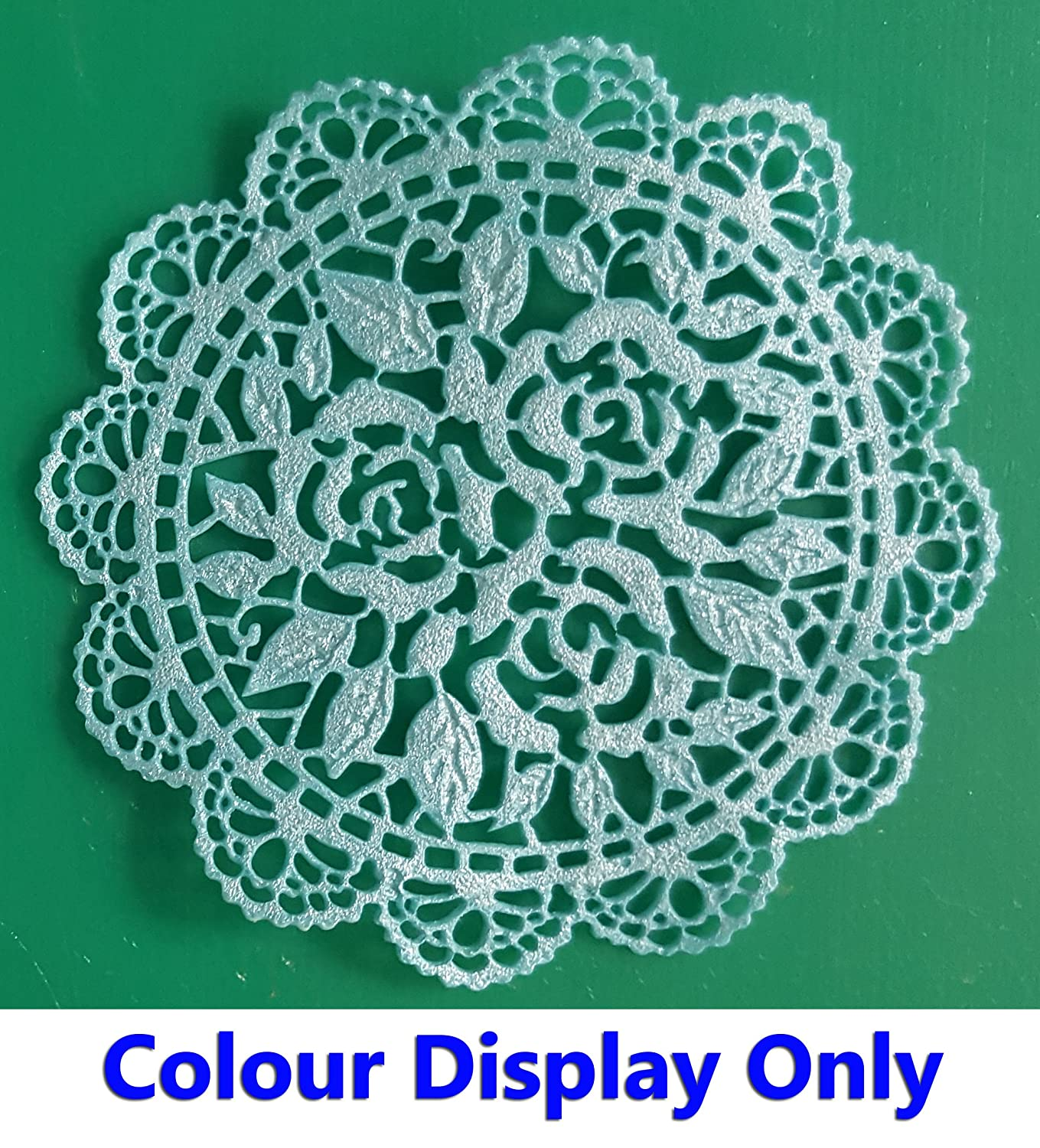 1 x Simply Heaven Edible Ready Made Cake Lace 40 colours made from mat 83