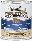 Rust-Oleum 284472 Varathane Triple Thick Polyurethane, Semi-Gloss,32 FL OZ