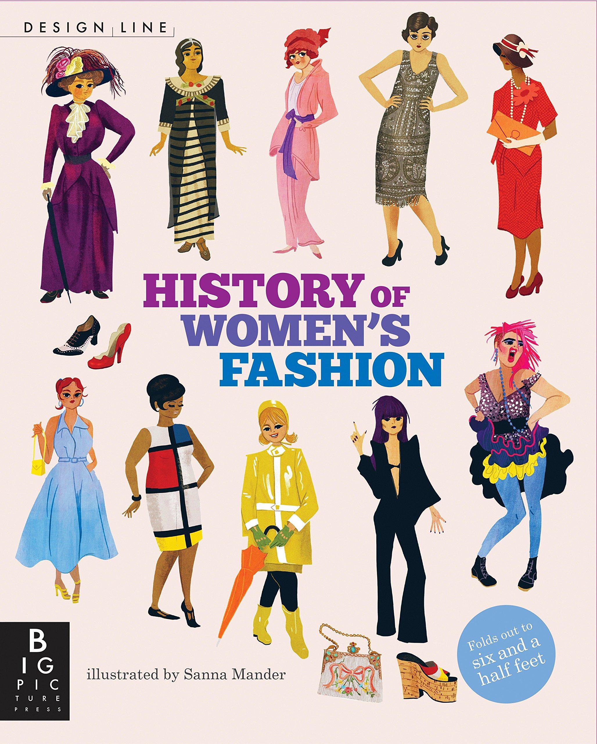 Design Line History Of Women S Fashion Slee Natasha Mander Sanna 9780763679620 Amazon Com Books