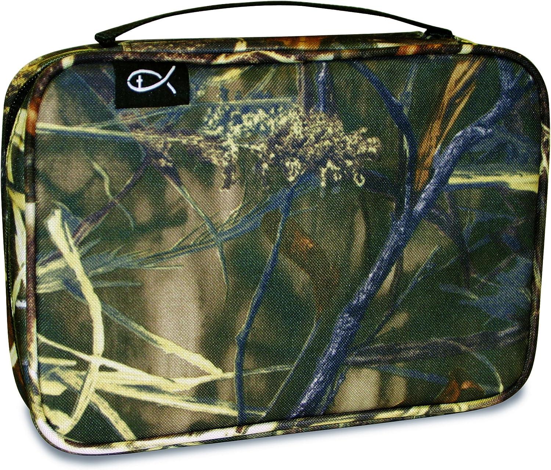 Medium 21767 Divinity Boutique Bible Cover Marsh Grass Camo