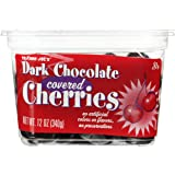Trader Joe's Dark Chocolate Covered Cherries No Artificial Colors or Flavors, No Preservatives ,12 OZ