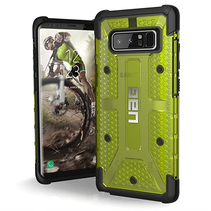 half off c5e16 010ae UAG Samsung Note 8 Plasma Feather-Light Rugged [Citron] Military Drop  Tested Phone Case