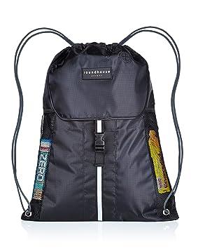 Premium Quality 5 Pocket Waterproof Unisex Gym Sack Drawstring Bag Swimming School PE Sackpack Backpack
