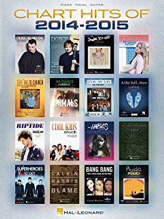 Amazon popular sheet music 30 hits from 2014 2016 ebook hal chart hits of 2014 2015 songbook chart hits of fandeluxe Images