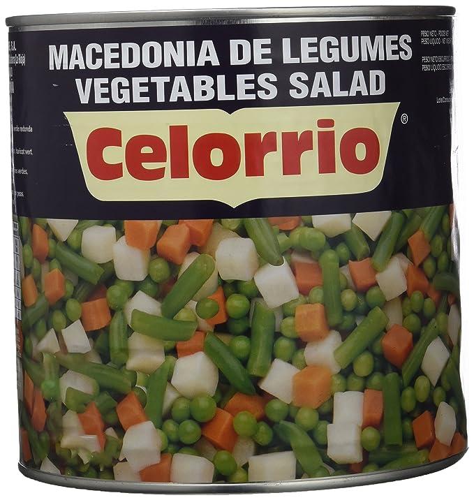 Celorrio - Macedonia de verduras - 1.5 kg: Amazon.es: Alimentación ...