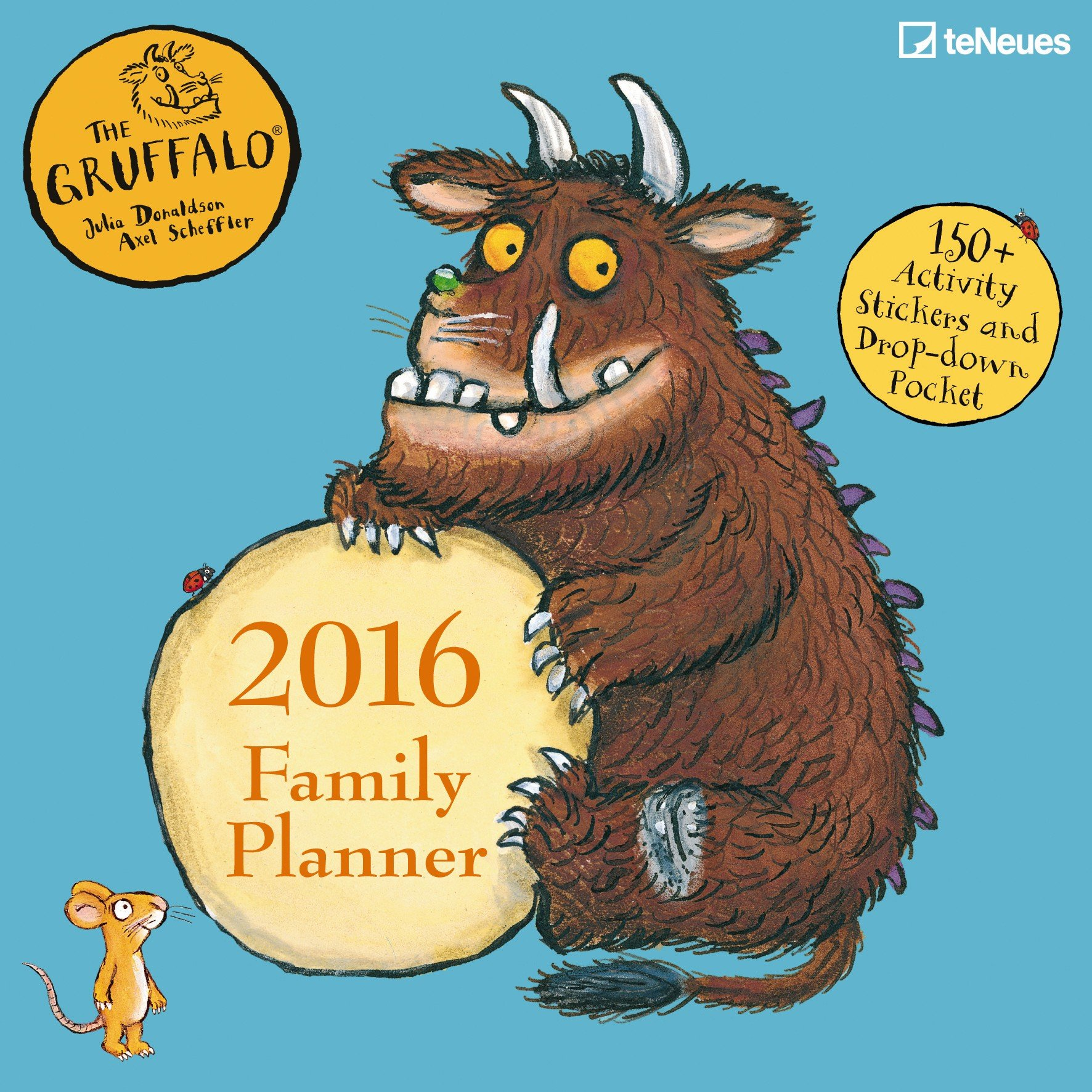 Gruffalo 2016 family planner 30 x 30 cm amazon teneues gruffalo 2016 family planner 30 x 30 cm amazon teneues books amipublicfo Image collections