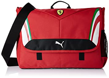 394898a2278a Puma Ferrari Polyester 9.5 Ltrs Rosso Corsa Messenger Bag (7395501 ...