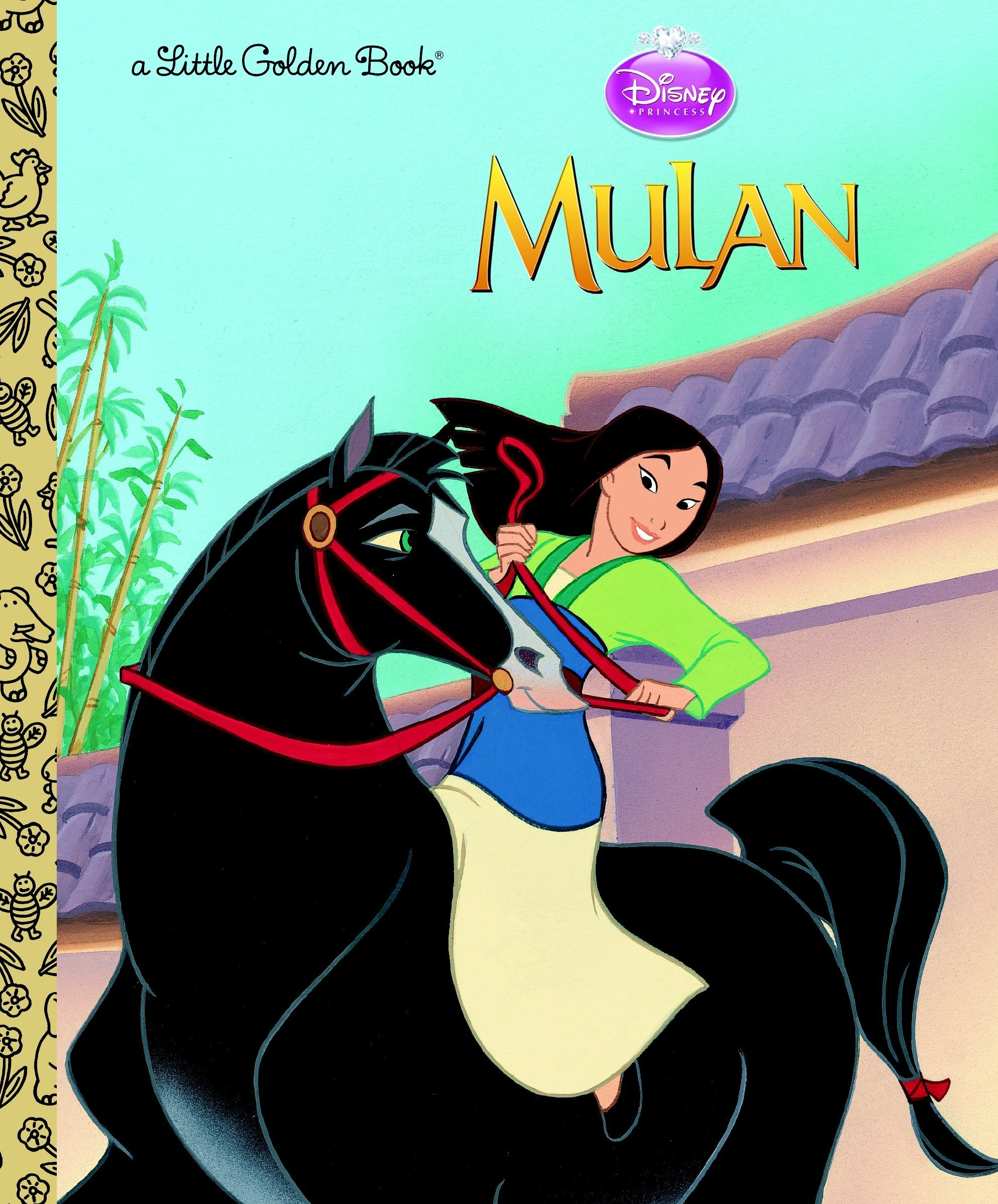 Read Online Mulan (Disney Princess) (Little Golden Book) pdf