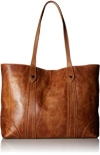 0d7c42066 Amazon.com: FRYE Melissa Zip Leather Tote, beige: Clothing