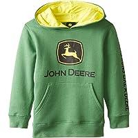 John Deere Little Boys Logo Fleece Hoodie