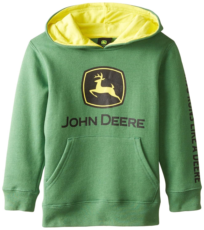 John Deere Tractor Little Boys' Pullover Fleece Hoody Sweatshirt JFJ056GC
