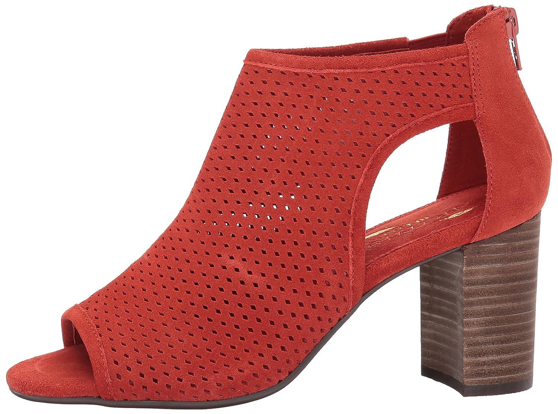 Aerosoles Women's High Frequency Ankle Bootie B06Y3MMRDP 11 B(M) US Orange Suede