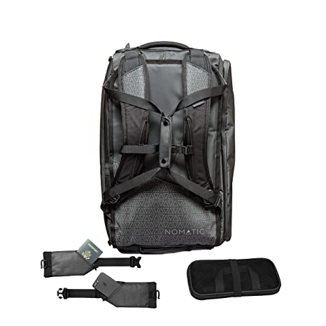 2cc0323a65 Image Unavailable. Image not available for. Colour  Water Resistant NOMATIC  40L Travel Bag TSA Checkpoint Compliant Duffel Backpack