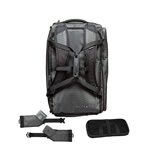 2553b22a49e Amazon.com: NOMATIC Water Resistant 40L Travel Bag - TSA Checkpoint ...