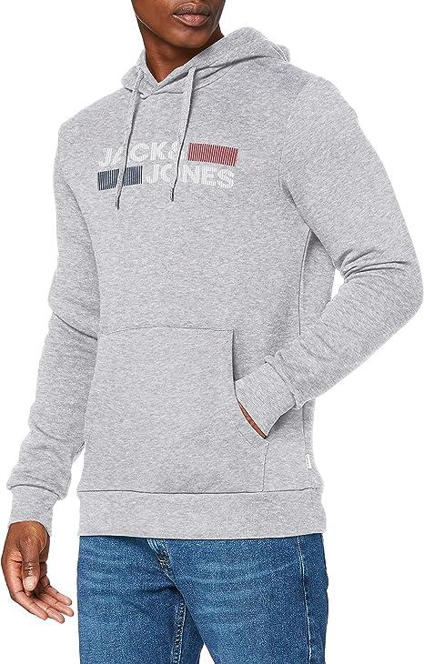 TALLA L. Jack & Jones Jjecorp Logo Sweat Hood Noos Sudadera con Capucha para Hombre