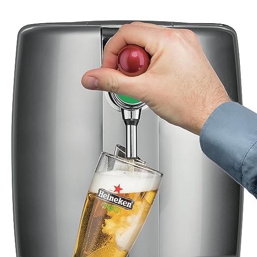 Krups YY2931FD 5L Dispensador de cerveza de barril grifo de cerveza - Tirador de cerveza (4,97 kg, 450 x 490 x 274 mm, LED): Amazon.es: Hogar