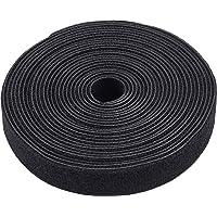 Meister Klittenband rol - 5 meter lengte - 20 mm breedte - zwart - hersluitbaar - vrij op maat te snijden - stabiel…