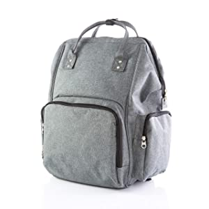 OKS Breast Pump Bag Backpack with Padded Spacious Compartment Best Compatible for Most Brands Breast Pumps Like Spectra, Medela, Lansinoh. Suitable for Working or Outdoor Mothers