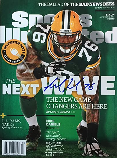 1f5822551 Image Unavailable. Image not available for. Color: Mike Daniels GREEN BAY  PACKERS ...