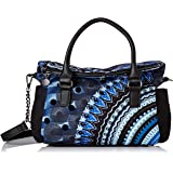 Desigual womens Bag Blue Friend Loverty