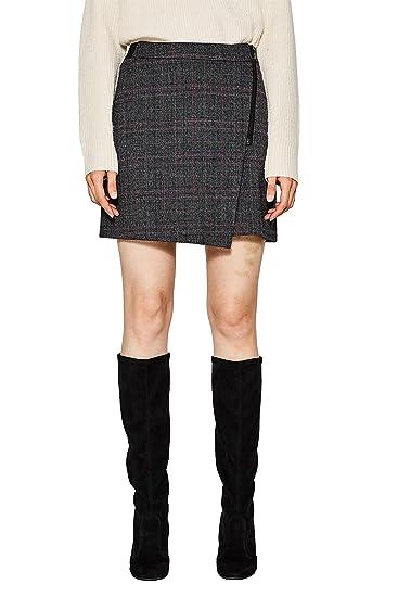 107cc1d012, Jupe Femme, Gris (Grey 2 031), 40EDC by Esprit