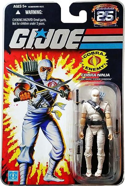 GI Joe 25th Anniversary: Classic Storm Shadow (Cobra Ninja) 3.75 Inch Action Figure