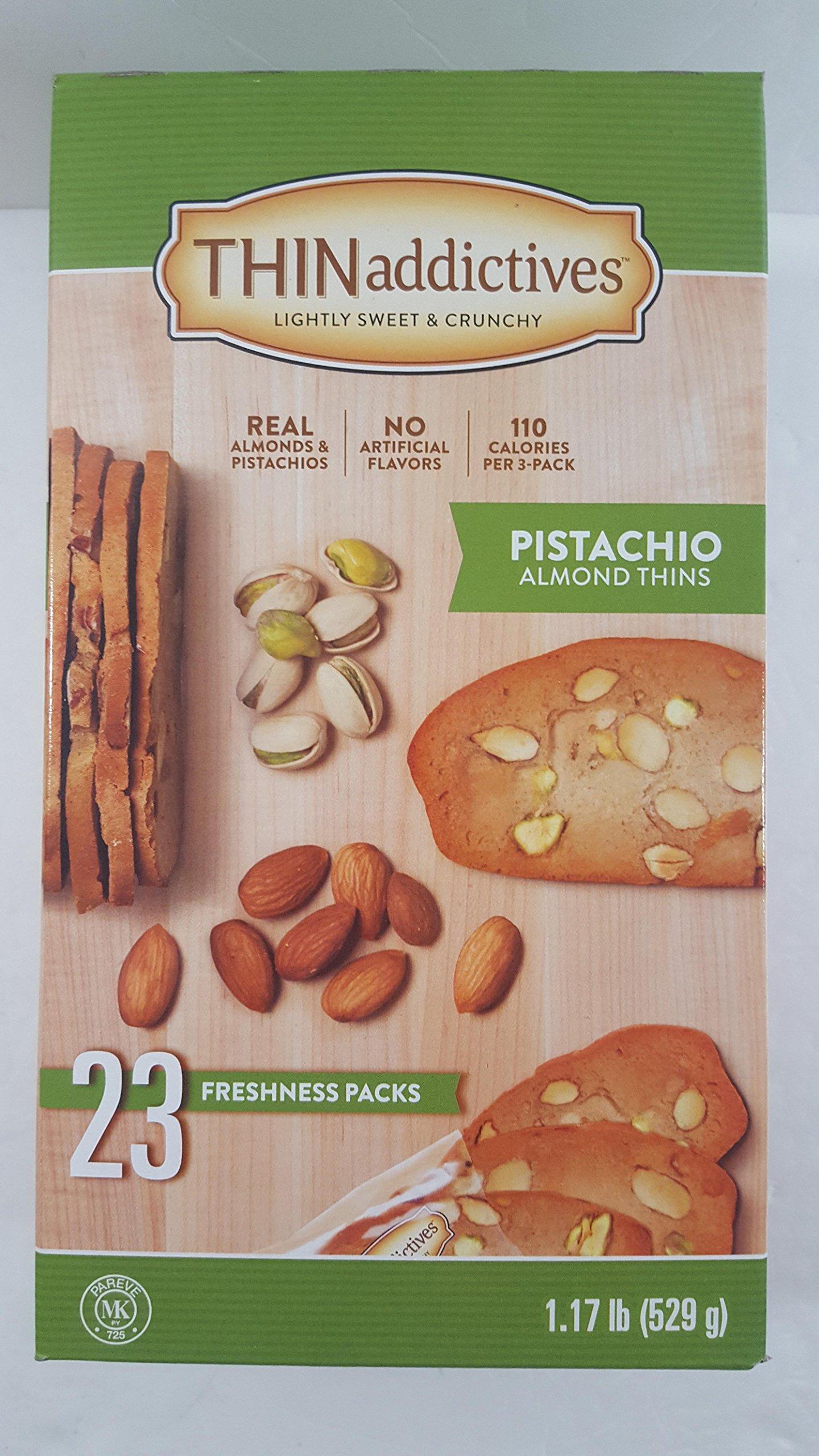 Thin Addictives Pistachio Cookies