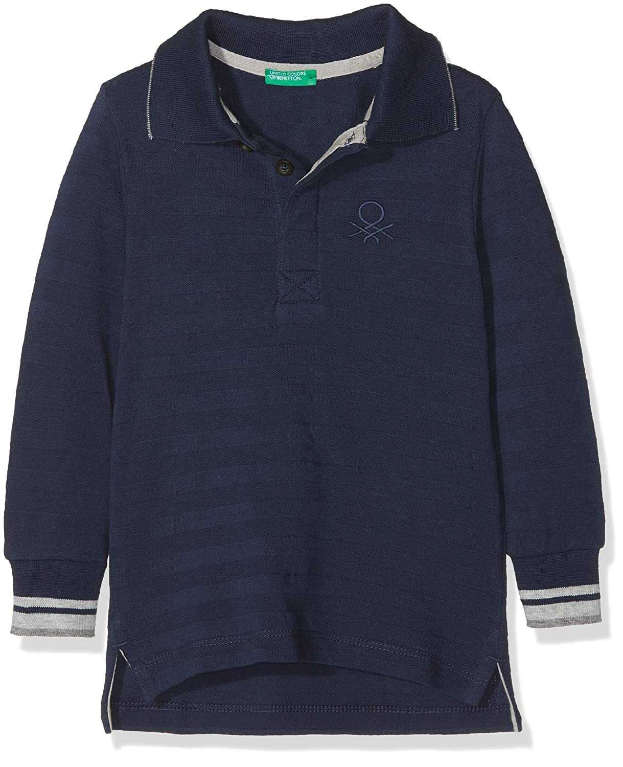 United Colors of Benetton L/s Polo Shirt, Azul (Blue 13c), 92 ...