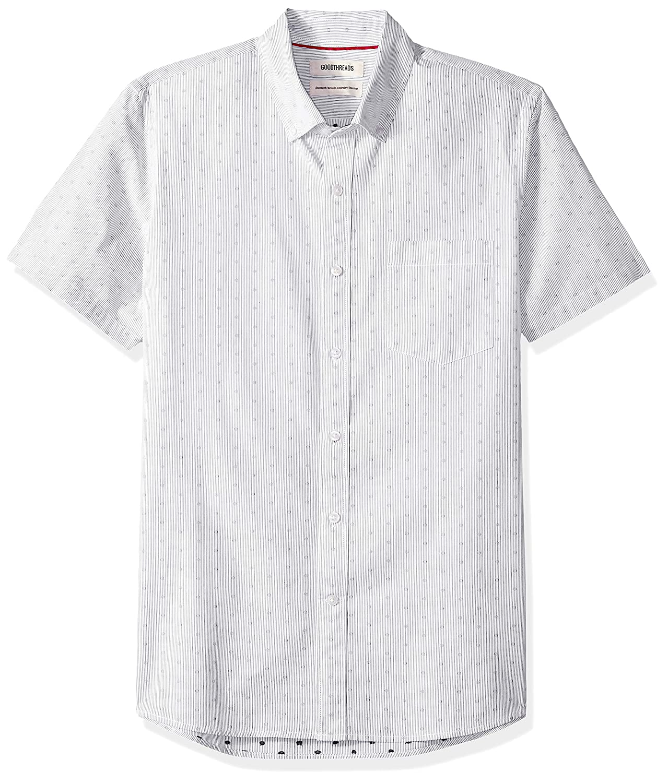 Goodthreads Standard-fit Short-Sleeve Dobby Camiseta Deporte Hombre
