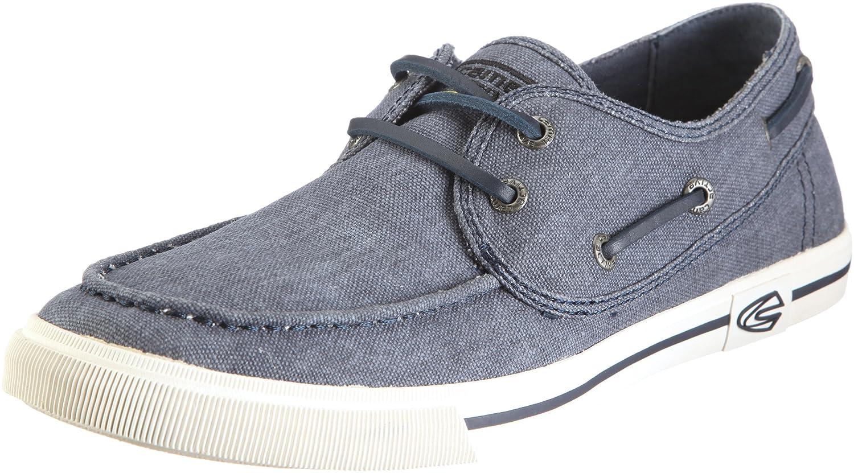 camel active Harbour 13 295.13.01 - Zapatos de lino para hombre 44 EU|Azul