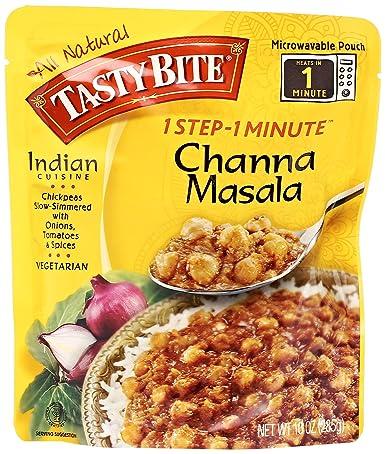Tasty Bite Channa Masala Entree, 10 oz: Amazon.com: Grocery ...