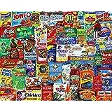 Springbok 500 Piece Jigsaw Puzzle Looney Labels