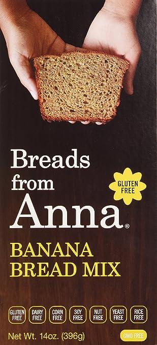 Amazon Com Breads From Anna Banana Bread Mix Gluten Yeast Soy
