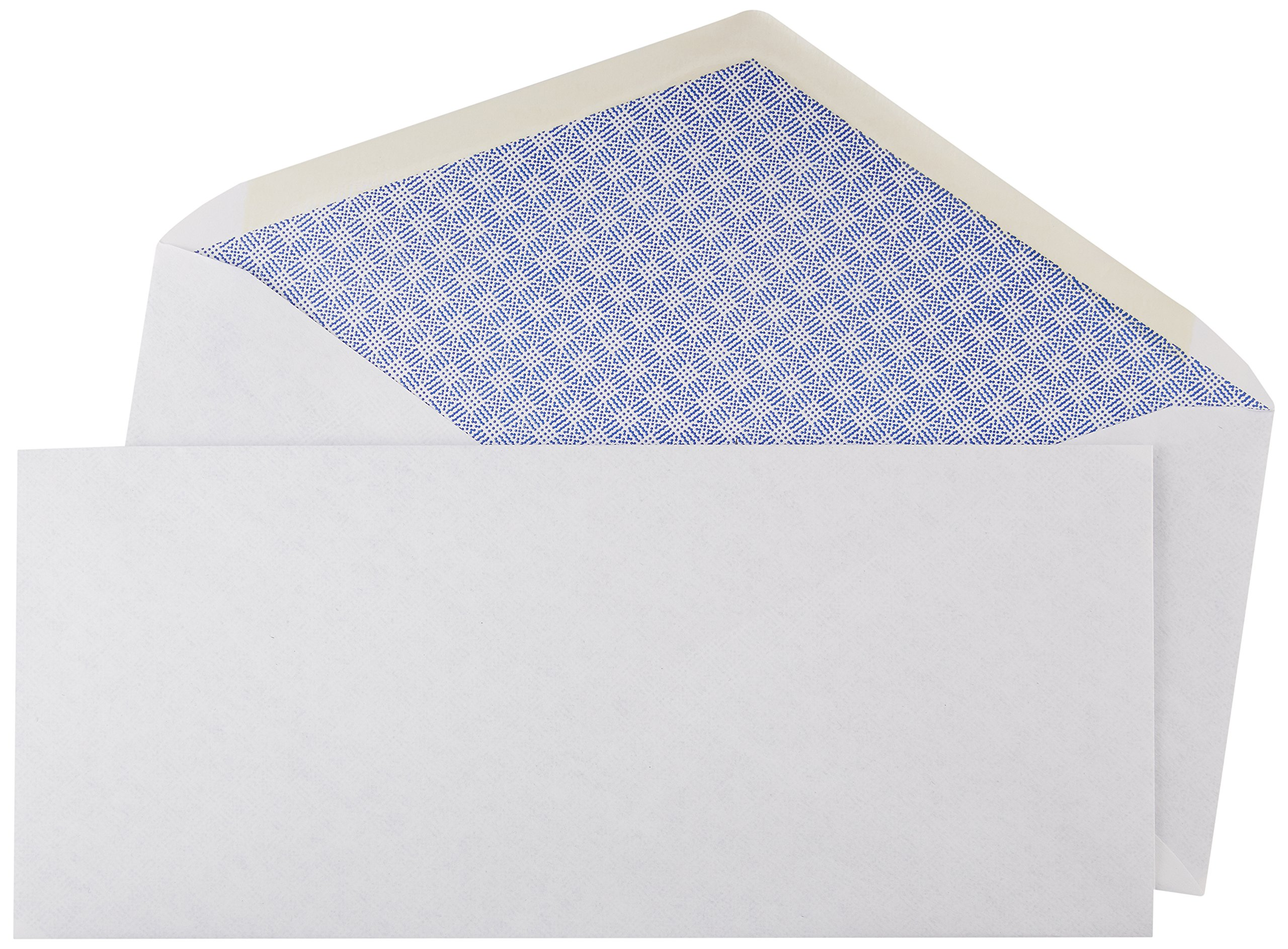AmazonBasics #10 Security Tinted Envelopes - 4 1/8-Inch x 9.5-Inch (500 Pack)