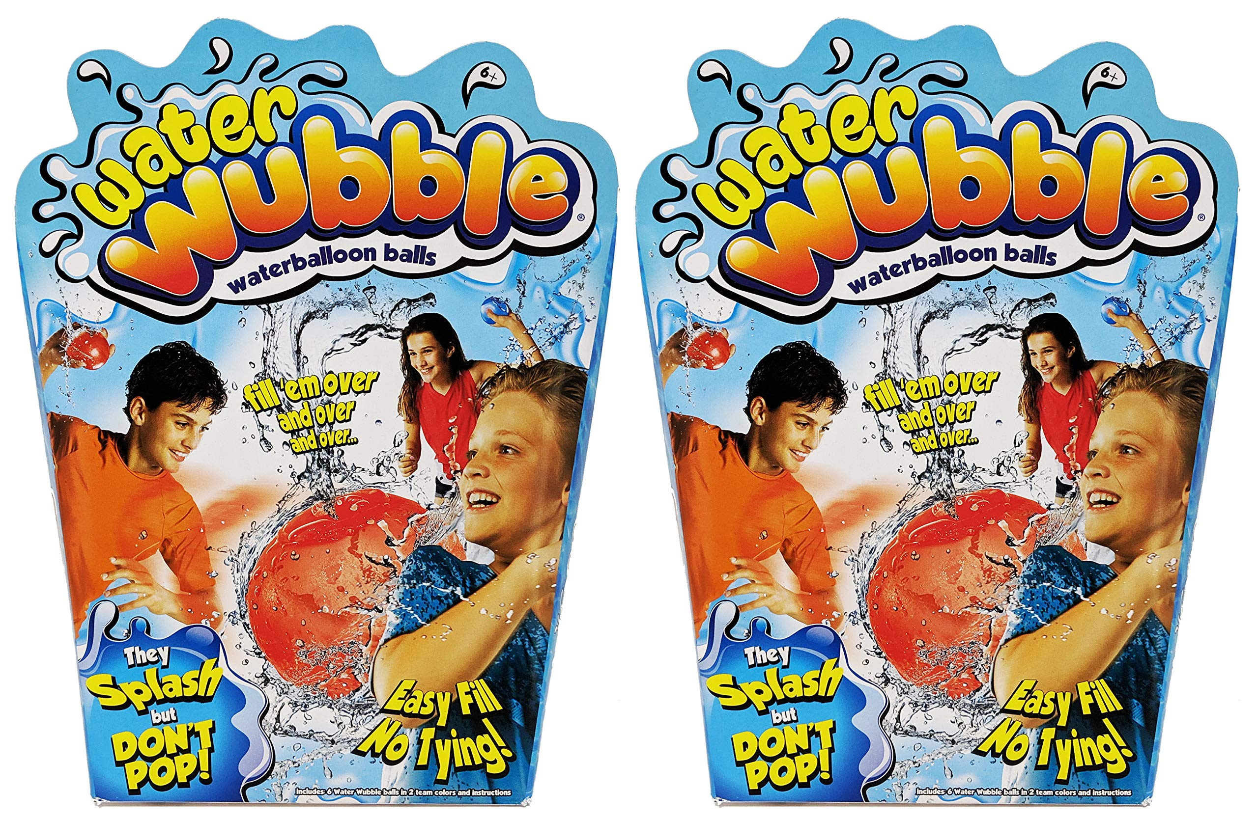 Water Wubble 12 Pack Refillable Water Balloon Balls by Water Wubble
