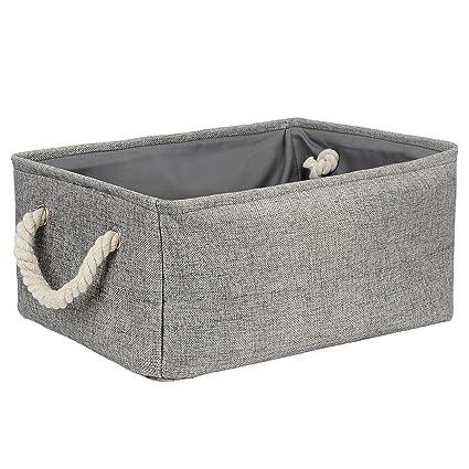 Bon Storage Bin, Zonyon 17u0027u0027 Jumbo Large Rectangular Linen Foldable Storage  Container,Baby