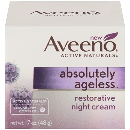 Aveeno Absolutely Ageless, Restorative Night Cream