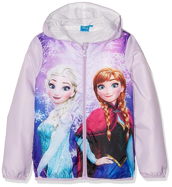 Disney Frozen Beautiful, Abrigo para Niñas, Morado (Violet 14-3612 TC)