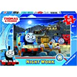 Ravensburger 9604 Thomas Glow in the Dark Night Work Jigsaw Puzzle - 60 Pieces