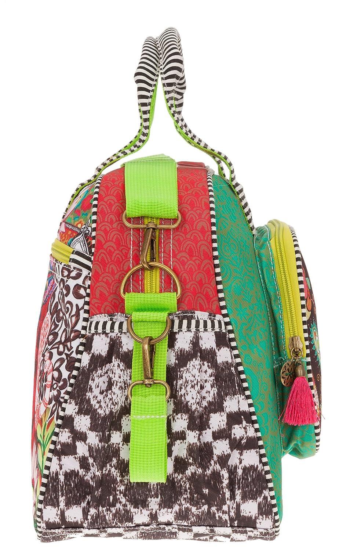 Extra Reisewickelset Multi Red Rot Gr/ün HAPPINESS Baby Wickeltasche Diaper Bag 5 Teile Tasche komplett
