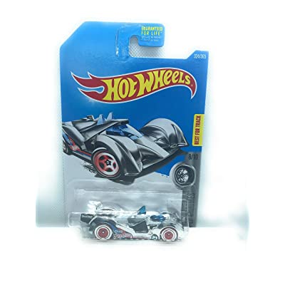 HOT WHEELS SUPER CHROMES 8/10, CHROME HI TECH MISSILE 324/365: Toys & Games