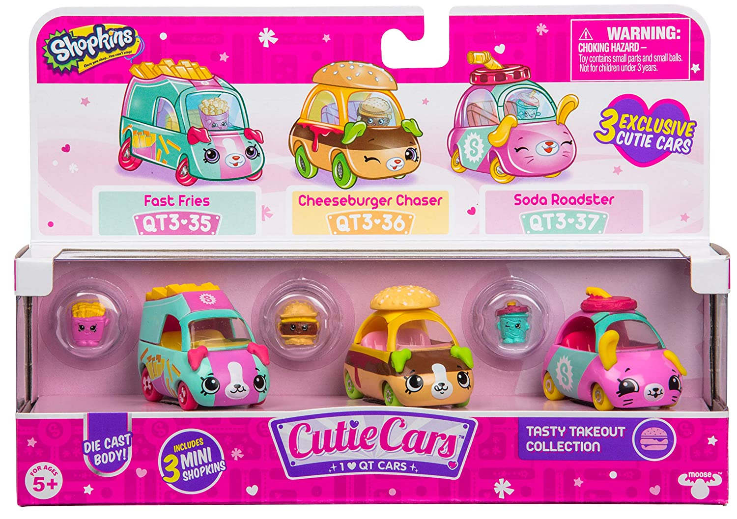Shopkins S3 3 Pack Tasty Takeo...