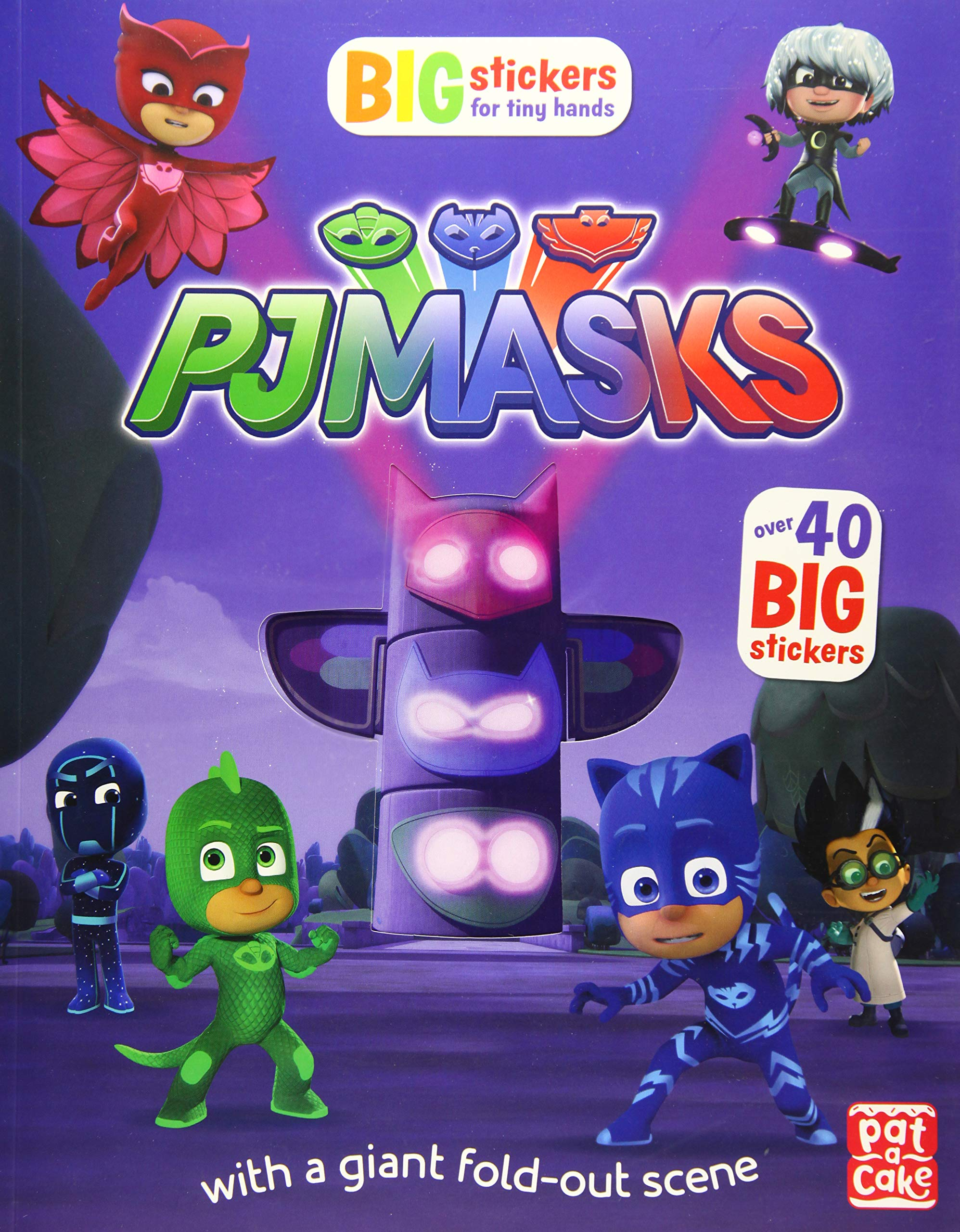 Big Stickers for Tiny Hands (PJ Masks): Amazon.es: Pat-a-Cake ...