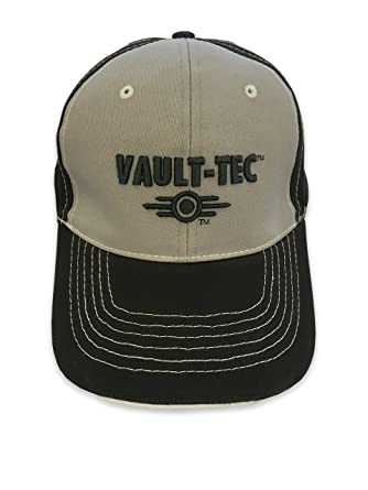 Amazon.com  Fallout 4 Baseball Hat  Official Licensed Merchandise - Vault  Tec (Electronic Games Xbox One PS4)  Video Games 1a9a251b66a1